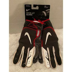 Nike Vapor Jet Buccaneers Football Gloves Black